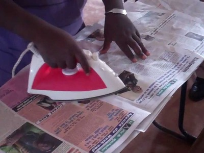 Operation Self Sustainability - Making Useful Items out of Trash Bags