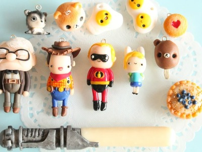 Polymer Clay Charm Update #5 - Cupcakes, Lilacsprinkles, PieBieW & More!