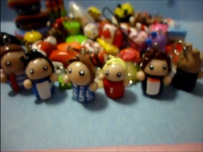 Polymer Clay Charm Update #6 (1D chibis)