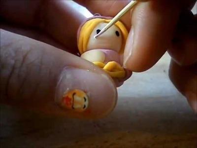 Polymer clay: Rapunzel Chibi Tutorial~!