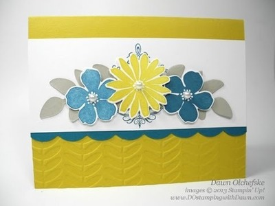 Stampin' Up! Secret Garden Bundle Tips