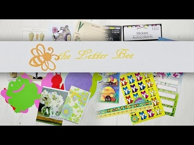 The Letter Bee Box - Stationery, PenPals & Journals - May Unboxing