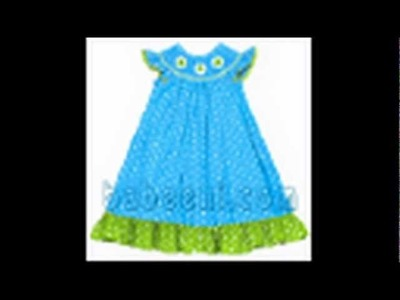 Babeeni Colorful summer collection, baby smocked dresses, pillow case dresses, swimwear