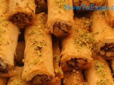 Baklava Fingers Recipe How To Make Baklava Fingers (Easy Dessert)