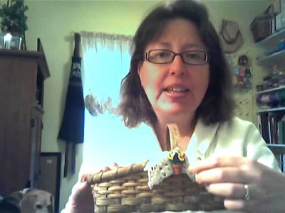 Basket Weaving - Garden Seed Basket