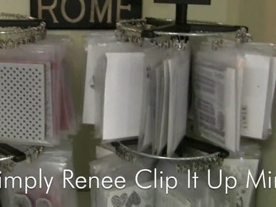 Clear and Cling Stamp Storage