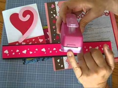 CM #150 - Heart Borders - Fast and Easy - Love Struck Maker Punch