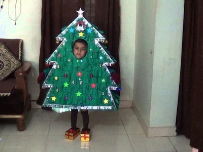 Fancy Dress as Christmas Tree