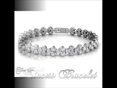 Her Jewellery Princess Bracelet (Made with SWAROVSKI ELEMENTS)