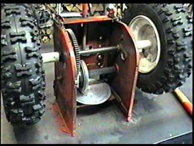 HOW The Friction Disc Wheel Works on Your Snowblower
