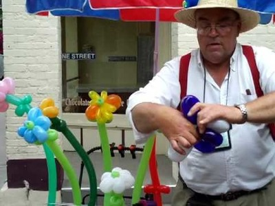 How to make a balloon flower