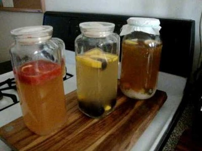 How to make Flavored Water Kefir - Part II
