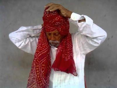 HOW TO MAKE RAJPUTI TURBAN BY THAKUR BHAWAR SINGH RATHORE