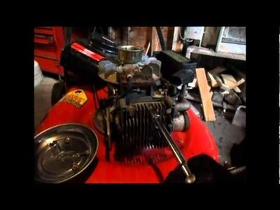 How to remove carbon of a cylinder head part 2.2