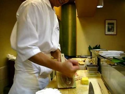 How wasabi is made!
