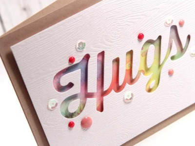 Make a Card Monday #241 - Watercolor Hugs