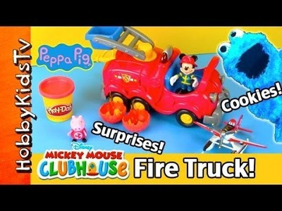 Peppa Pig's Cooking Class Catches FIRE + Surprise Treats! by HobbyKidsTV
