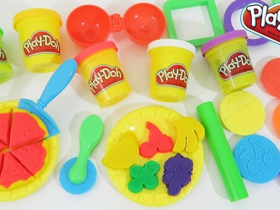 Play Doh Lunchtime Creations Sweet Shoppe Pizza Shop Play Dough Toy Unboxing and Review!