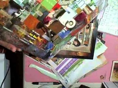 Recycling Magazines into a Purse LIVE on USTREAM TODAY!