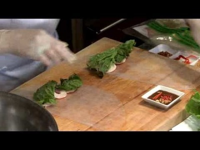 Sodexo Presents Chef Mai Pham - Preparing Goi Cuon or Salad Rolls