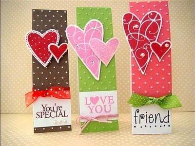 10 Cute Homemade  Valentine Card Ideas