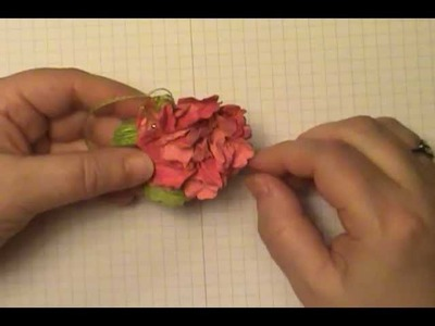 3D Paper Flower Technique - Quick Tip