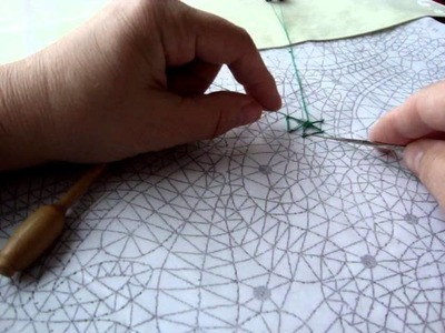 Bobbin Lace - Wheel tutorial