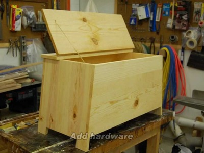 Build a Six Board Pine Chest