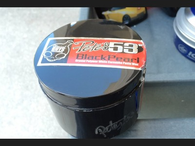Chemical Guys Pete's 53 Black Pearl Paste Wax - Review