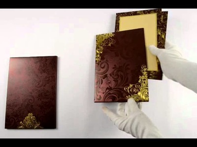 D-5611, Red Color, Shimmery Finish Paper, Designer Multifaith Invitations, Exclusive Invitations