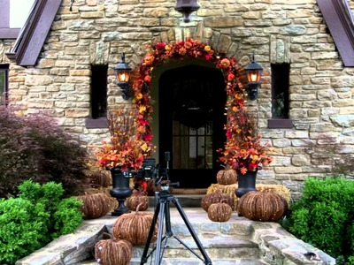 Decorating Your Porch for Fall and Halloween - Grandin Road
