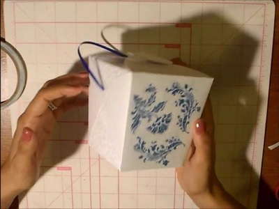 Fancy Chinese Take Out box Tutorial