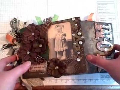 Gate Fold Paper Bag Mini Album