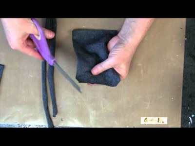 How to create your own no-sew cell phone pouch - Creative Life TV