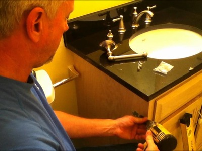 How to install a toilet paper holder