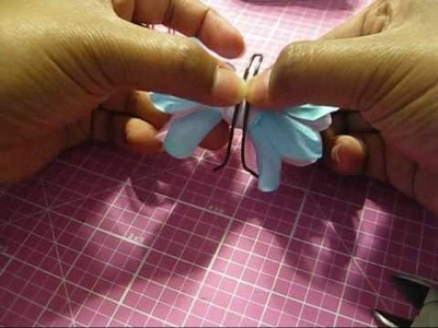 How to Make a Butterfly (IMAGINISCE and ZUTTER products)