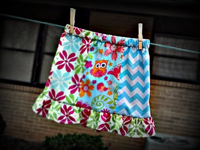 How To Make A Panel Skirt For A Toddler