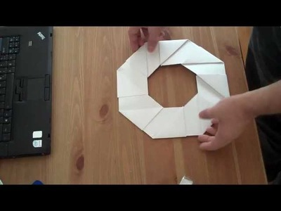 How to make a paper frisbee