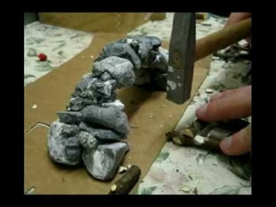 How to make a stone bridge