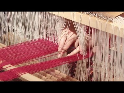 How To Set Up A Standard Loom For Weaving