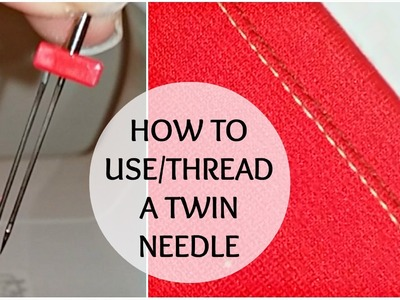 How to Use a Twin Needle | Stretch Fabric