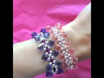 Kleshna Jewellery London Kisses bracelet Swarovski Elements
