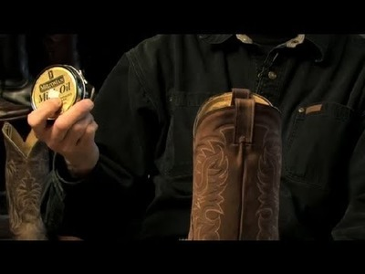 Making Boots Waterproof With Silicone Spray : Cowboy Boots
