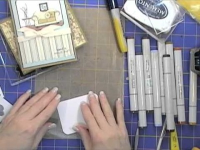 """""""On My Couch"""" Papertrey Ink Card Tutorial"""