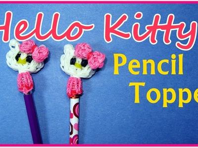 Rainbow Loom HELLO KITTY Pencil Topper