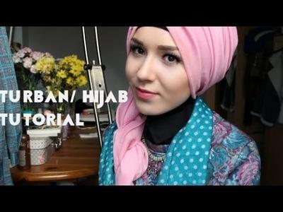 Side Twist Turban.Hijab Tutorial
