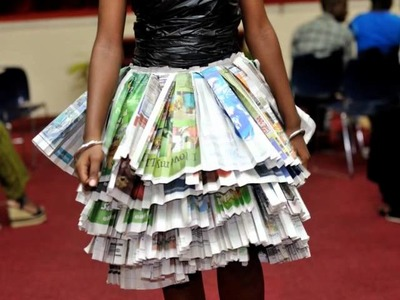 The GBSS Young Leaders' 'Green Scene' Fashion Show