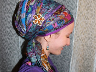 The ULTIMATE Sari Scarf Wrap!
