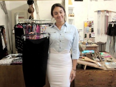 What Fabric Works Best for a Pencil Skirt? : Denim & Scarves, Oh My!