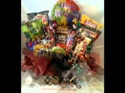 Wrap'd n More Birthday Celebration Baskets